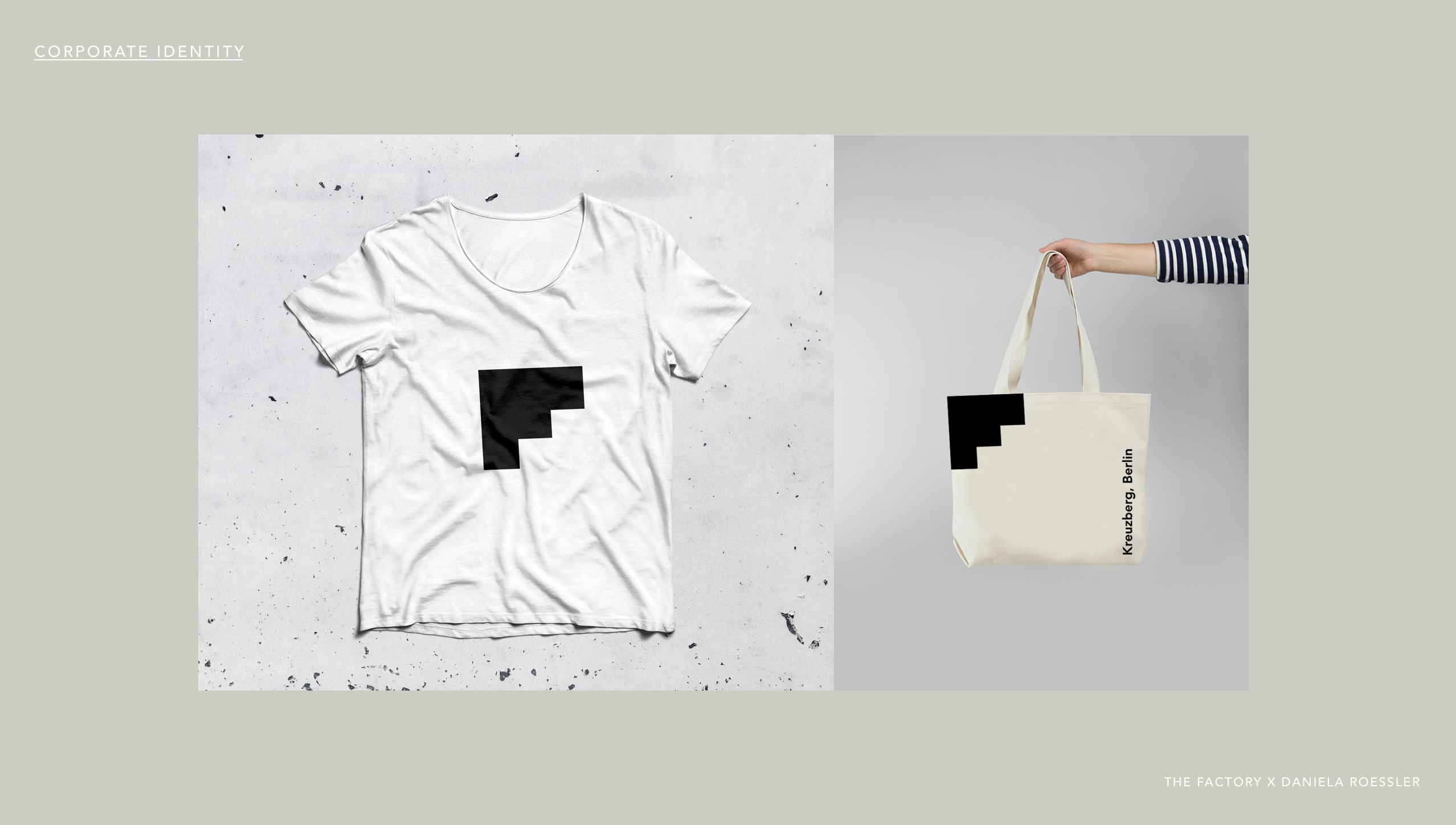 daniela roessler Factory Berlin Branding Proposal